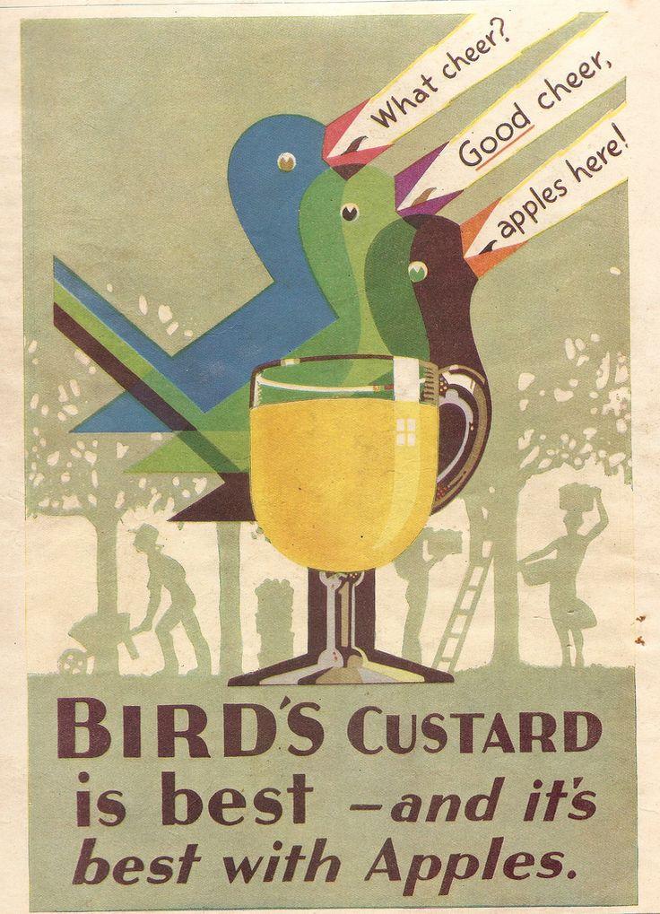 bird's custard, 1931