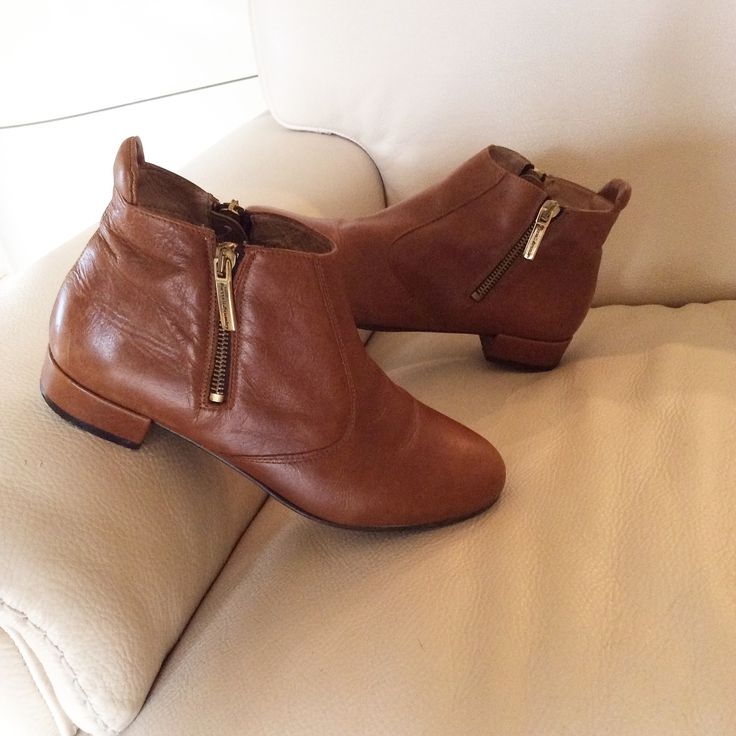 Russell and Bromley this seasons ankle leather boots ...........SOLD £70