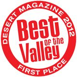 First Place - Best Of The Valley 2012 | Stuft Pizza La Quinta | stuftpizzabarandgrill.com | #pizza