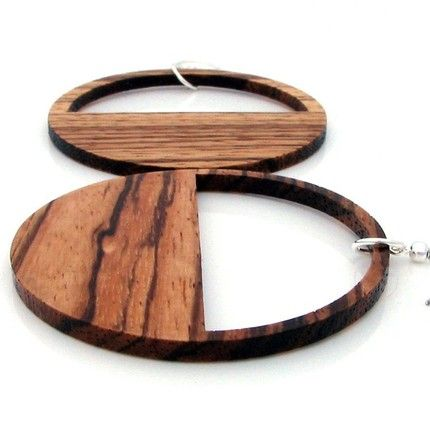 Wooden jewelry is in for summer.