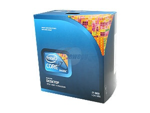 Intel Core i7-960 Bloomfield 3.2GHz LGA 1366 130W Quad-Core Desktop Processor BX80601960