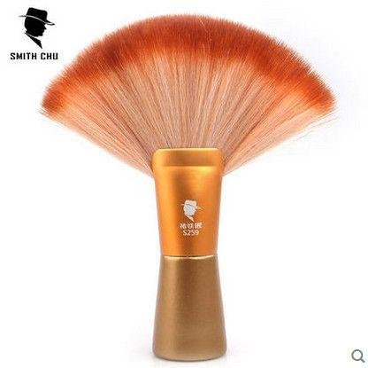 1X SMITH-CHU Professionnel Barber Souple Brosse À Cheveux Cou Visage Cheveux De Nettoyage Brosses De Coiffure Coupe De Cheveux Salon Poudre De Nettoyage