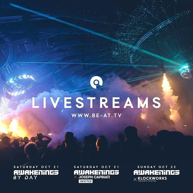 Can't join us in Amsterdam this week? Enjoy the Awakenings ADE Specials of Saturday & Sunday live via BE-AT.TV or our Facebook page! #ade17 #beattv #techno #amsterdam #awakenings #localrealtors - posted by Awakenings Ticket Lottery https://www.instagram.com/awakeningslottery - See more Real Estate photos from Local Realtors at https://LocalRealtors.com