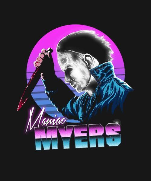 Diseño Retro Myers En Camisetas, Tazas, Bolsos, Chanclas