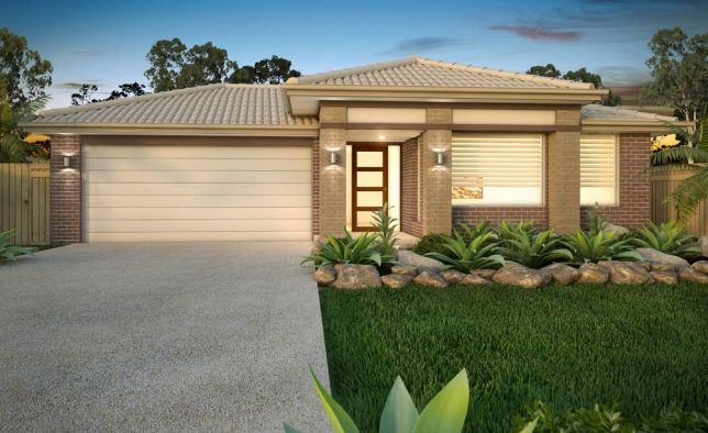 Simonds Homes: Marriott - Brighton Facade. Visit www.allmelbournebuilders.com.au for all display homes and building options in Victoria