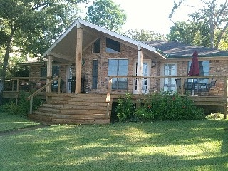 Cozy Waterfront Home on Open Water with Spacious Deck ...