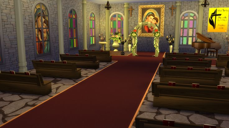 Lana CC Finds - simlifecc: The Sims 4 Church Stuff A few ...