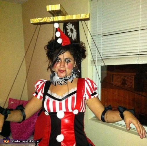 miss marionette diy halloween costume - Homemade Men Halloween Costumes