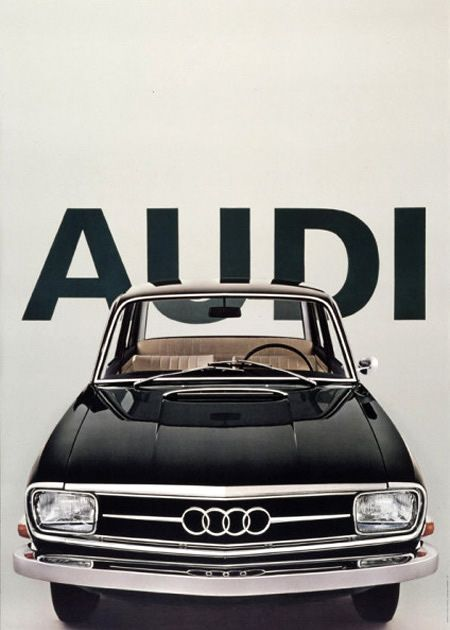 You've came a loooong way, baby!: Graphic Design, Cars, Auto, Classic, Vintage Audi