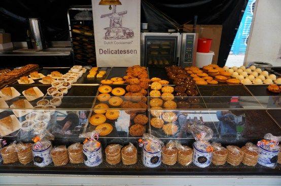 Albert Cuypmarkt Dutch pastries