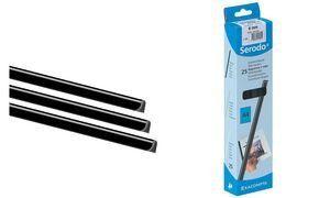 EXACOMPTA Baguette à relier Serodo, A4, 15 mm, noir: description du produit : EXACOMPTA Baguette à relier Serodo, A4, 15 mm, noir…
