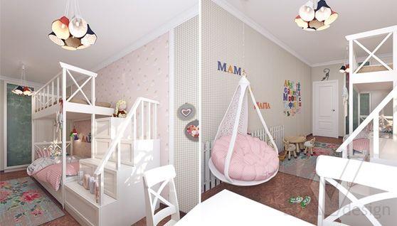 дизайн детской в 3-комнатной квартире, Коммунарка - 2