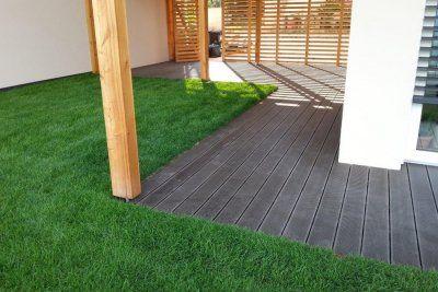 WPC (Wood Plastic Composite) Terrassendielen revolutioniert die Beständigkeit Ihrer Außenanlagen und Holzterrassen und macht sie außerdem absolut pflegeleicht.
