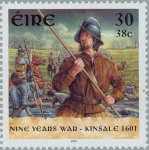 2001 Irlanda-Uniforme de Soldado Español en la Guerra de Kinsale de 1601
