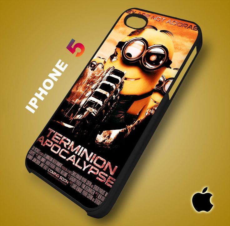 Despicable Me Minion Terminion Apocalypse iPhone 5 Case Durable Plastic