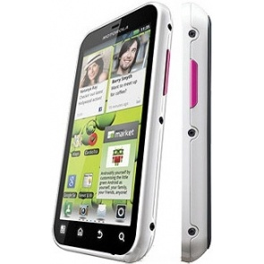 Motorola Defy + White