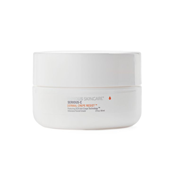 Serious Skincare Dermal Crepe Resist Intensive Facial Cream, Multicolor