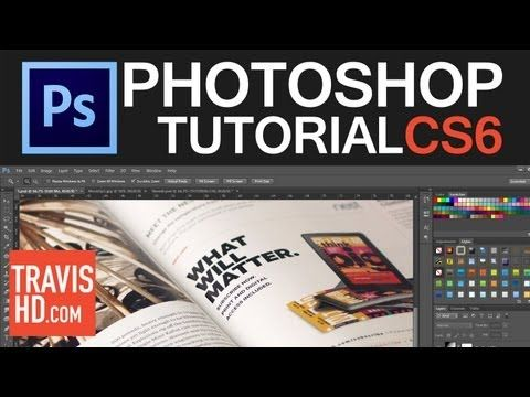 Photoshop Magazine Mock Up Tutorial - YouTube