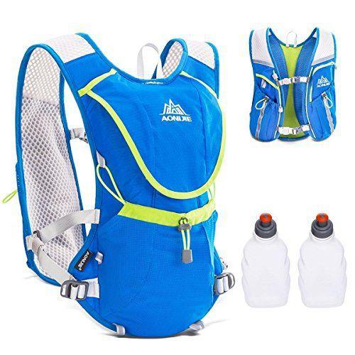 Triwonder Hydration Pack sac à dos professionnel 8L à l'extérieur Mochilas Trail Marathoner course à pied vélo d'hydratation gilet:…