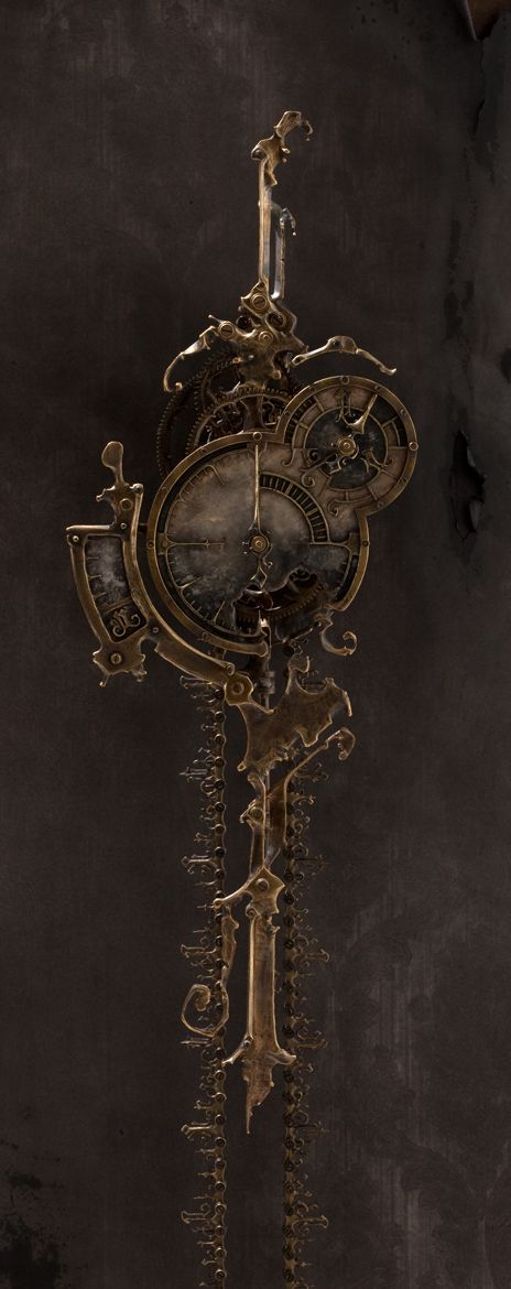 THE COLLECTION - Eric Freitas. If I had $1000-$2000 to spend on a clock. This dude would make it.