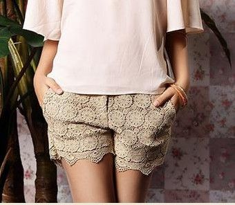Sweet lace shorts - Hichinashopping.com can help you to buy the apparel,shoes,bags,accessories,home decor,electronics items...... on china online shopping website and ship to you!