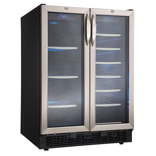 Danby Silhouette 5.0 Cu. Ft. Beverage Centre (DBC2760BLS) - Black