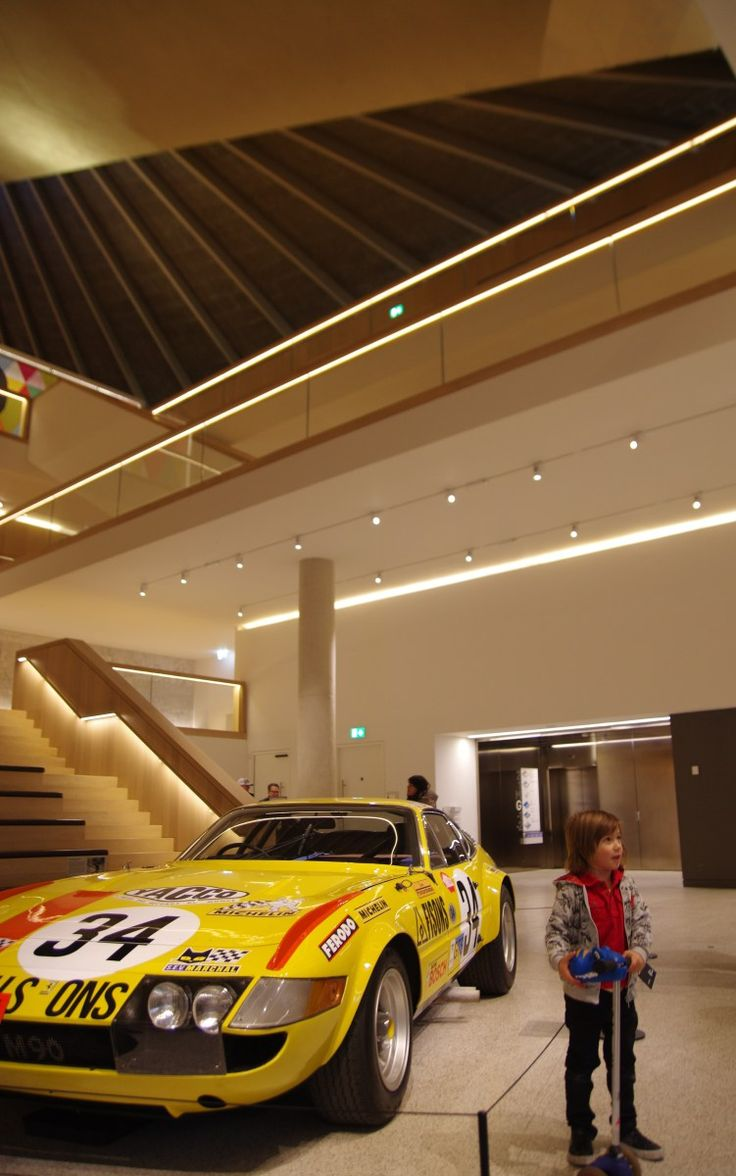 Ferrari under the skin with kids - London Design Museum