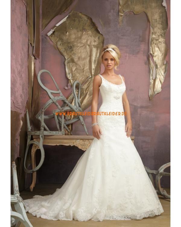 2013 Sexy Brautkleid im Meerjungfrauenstil mit Spitze