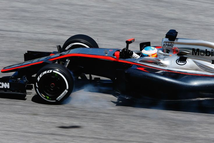 Fernando Alonso drives for McLaren in practice for the Malaysian Grand Prix (Image: McLaren)