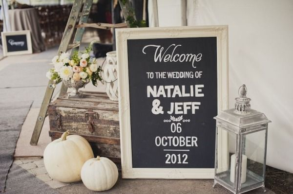 Fall Wedding by Spread Love Events