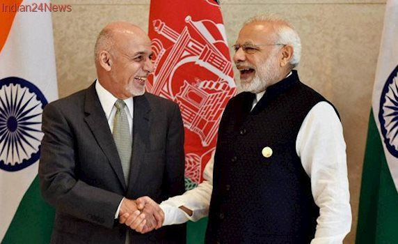 PM Modi, Ashraf Ghani discuss Afghan situation