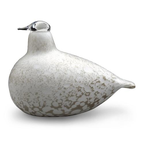 iittala Toikka Willow Grouse Glass Bird  £125 Free Shipping