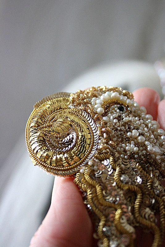Brooch, details! Hand embroidered by Irena Gasha