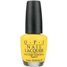 Love this yellow nail polish!