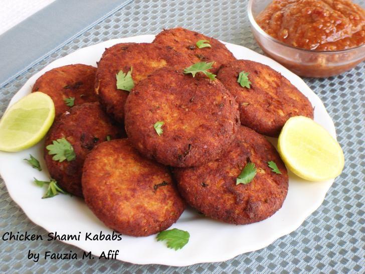 Chicken Shami Kababs | Fauzia's Kitchen Fun