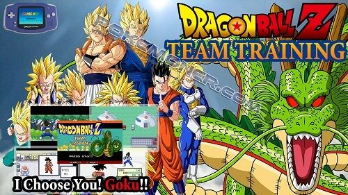 "http://www.pokemoner.com/2017/06/dragon-ball-z-team-training.html Dragon Ball Z Team Training  Name: Dragon Ball Z Team Training Remake From: Pokemon Fire Red Remake by: Z-Max Description: Pokemons are replaced by ""fighters"". There are 140 fighters in this game. There are 160 attacks including 130 new attacks (techniques from Dbz) with new animations of course and 30 old attacks (from Pokémon like Headbutt for example). new maps for some cities. Many items were added. (capsules senzu...etc)…"