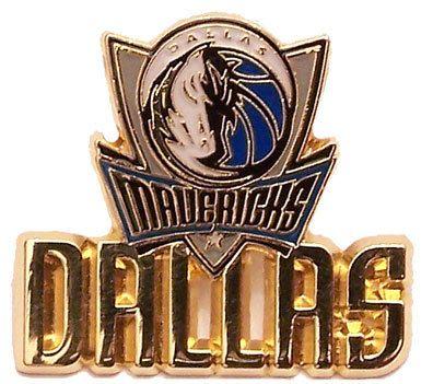 Dallas Mavericks Logo w/ Workmark Pin