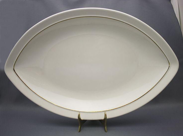 Arabia, fish plate, Harlekin Gold, Inkeri Leivo 145.00 €