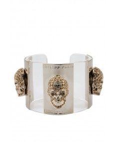 Philipp Plein - 'Skulls' Bracelet Gold