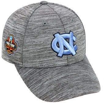 North Carolina Tar Heels Heather Gray 2017 NCAA Men's Basketball Tournament Final Four Adjustable Hat #tarheels #unc #finalfour