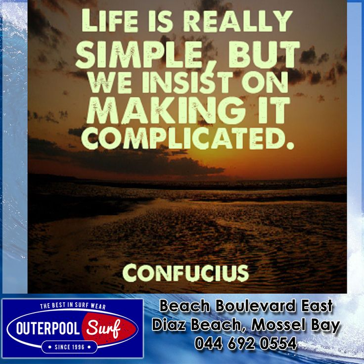 """Life is really simple, but we insist on making it complicated."" - Confucius. #quotes #life #motivation"