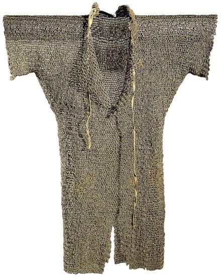 A 'full length' hauberk from the mid 13th Century.