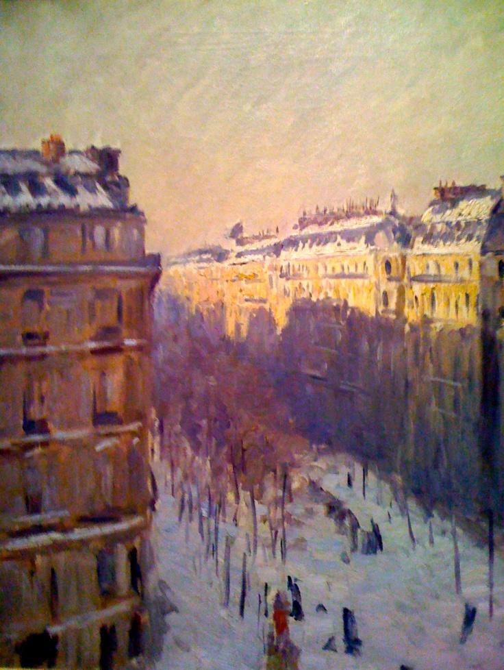 Gustave Caillebotte, Paris Street; Rainy Day