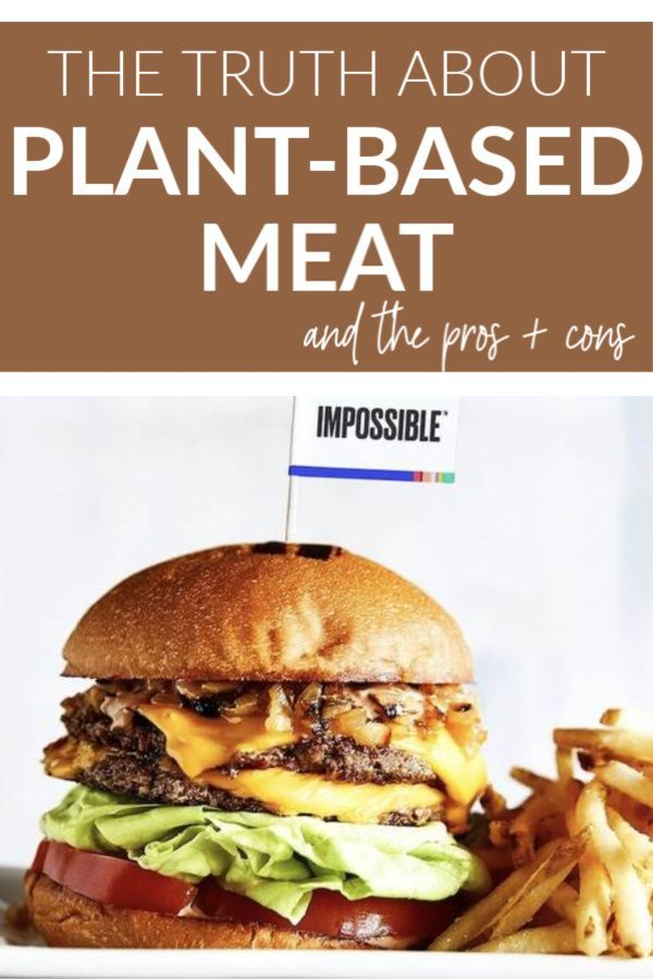 Plant Based Meats Have Become Increasingly More Popular Especially In Fast Food Restaurants While Vegan Meat Is H Vegan Fast Food Plant Based Burgers Healthy