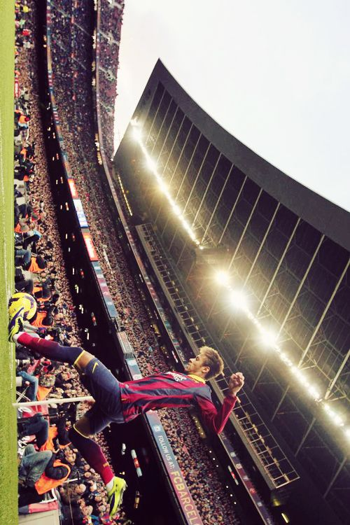 Neymar.. Its funny how the world is full of nice and handsome guys and yet YOU are the only who stands out in my eyes..