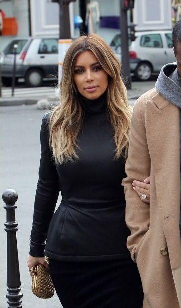 Kim Kardashian Ombre Hair Pinterest Kim Kardashian