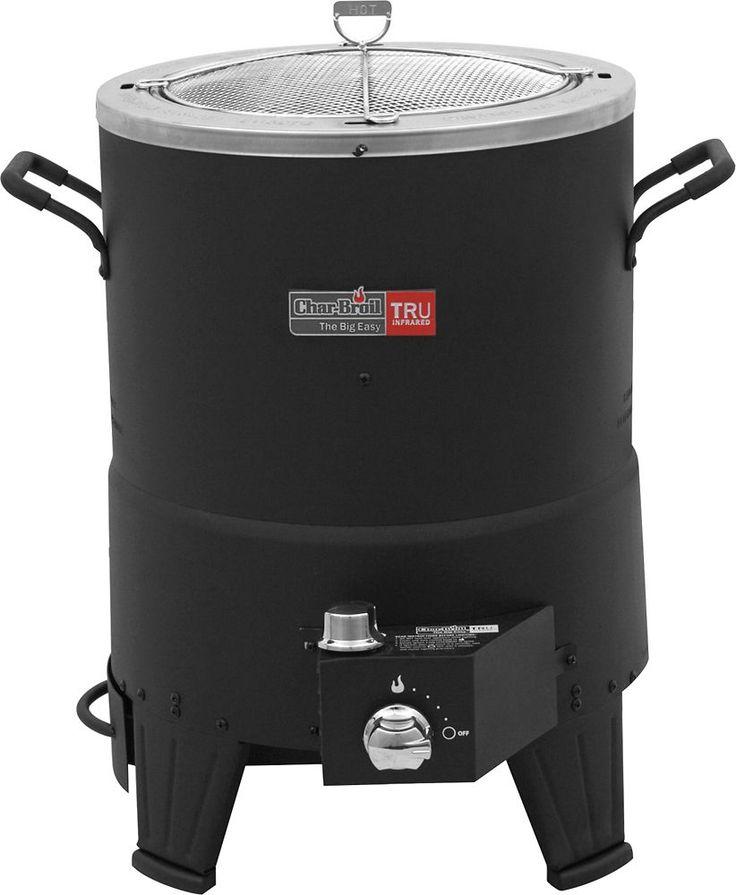 Char-Broil - Big Easy Infrared Turkey Fryer - Stainless-Steel/Black