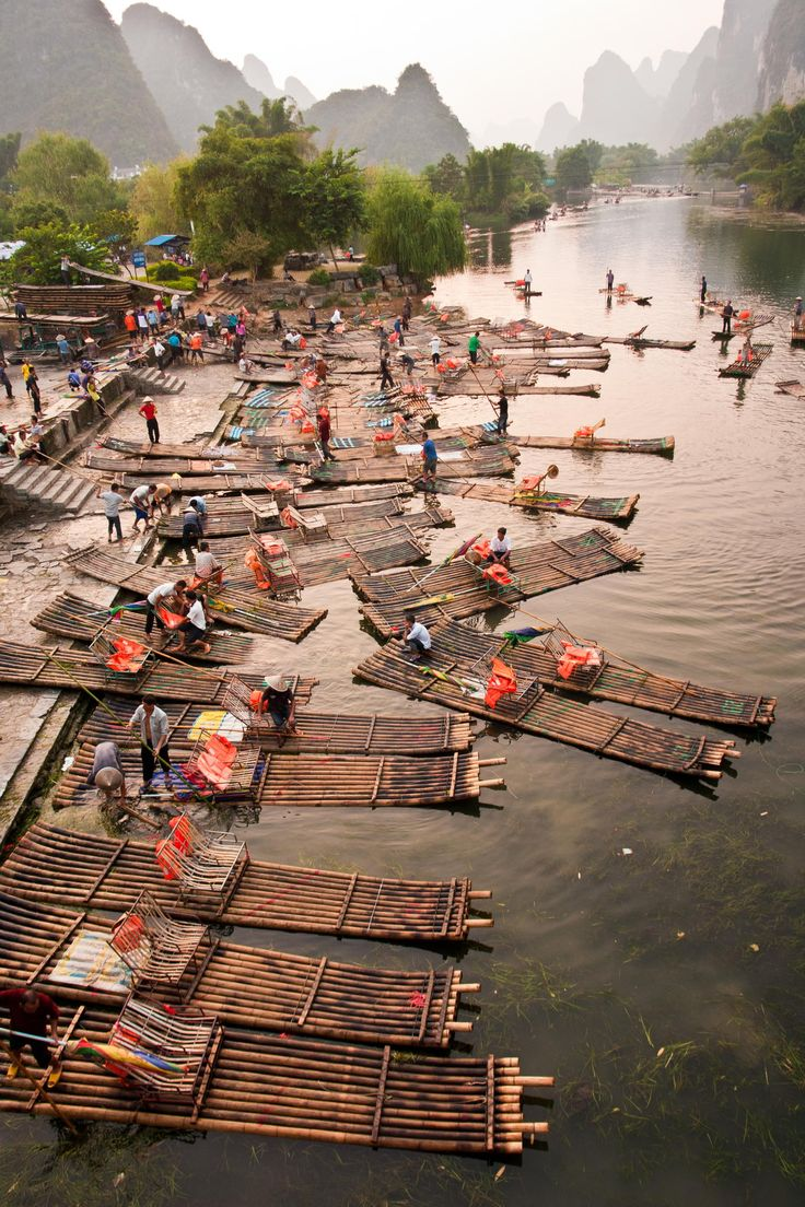 Bamboo boats by Fidelio García on 500px