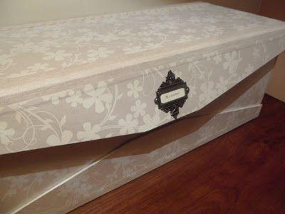 Caja para un ramo de novia