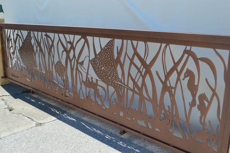 Custom sea railing designed b naturerails what can our for Terrace railing design